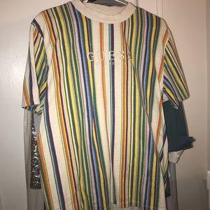 Guess Shirts - Guess striped tee